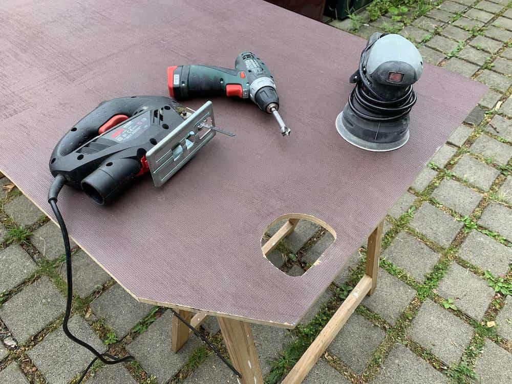 Sprinter Bodenplatte Form aussägen